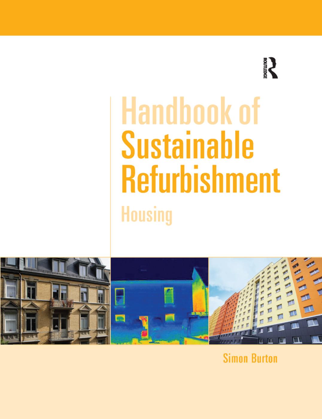 Handbook of Sustainable Refurbishment: Housing book cover