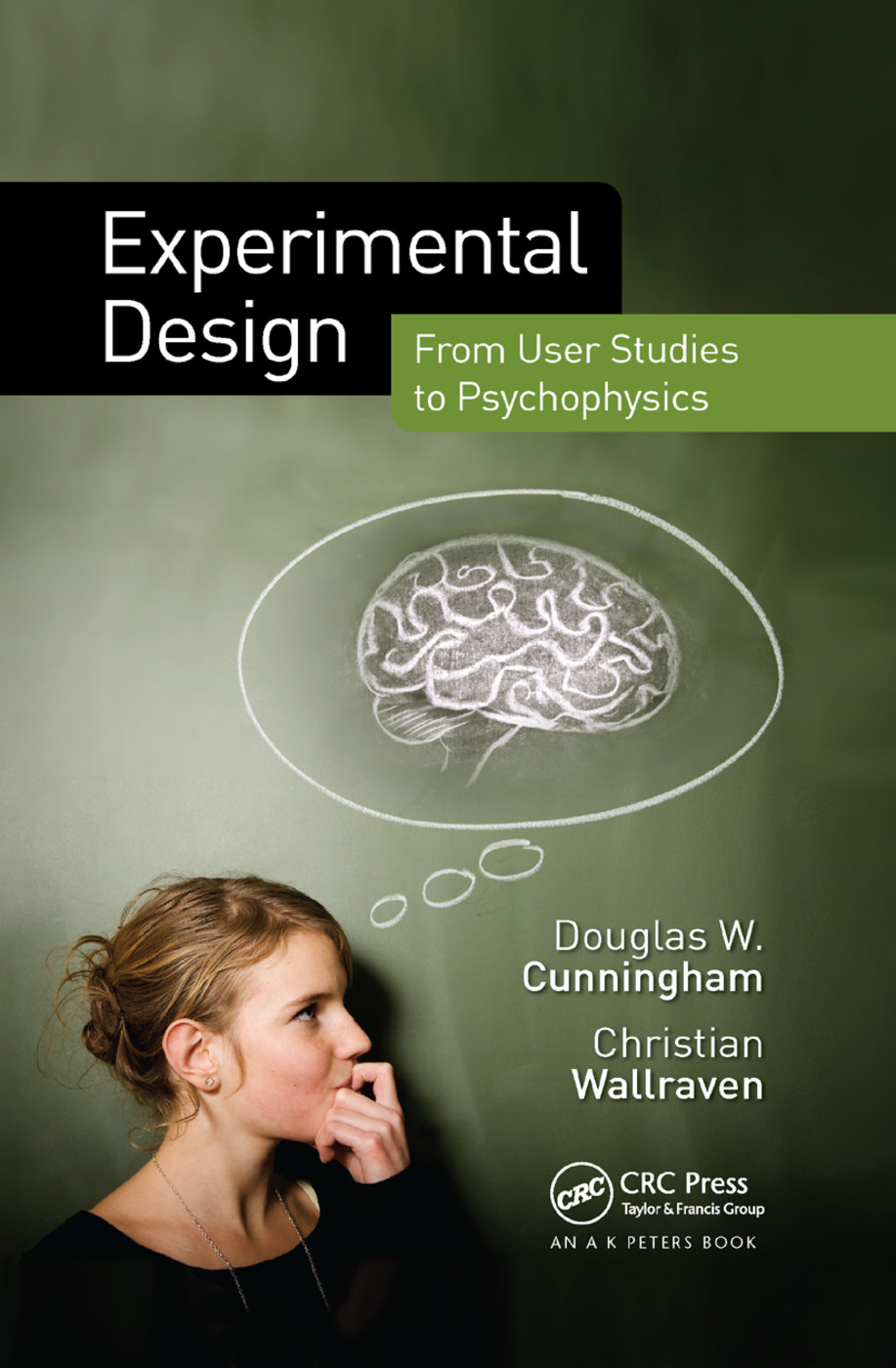 Experimental Design: From User Studies to Psychophysics book cover