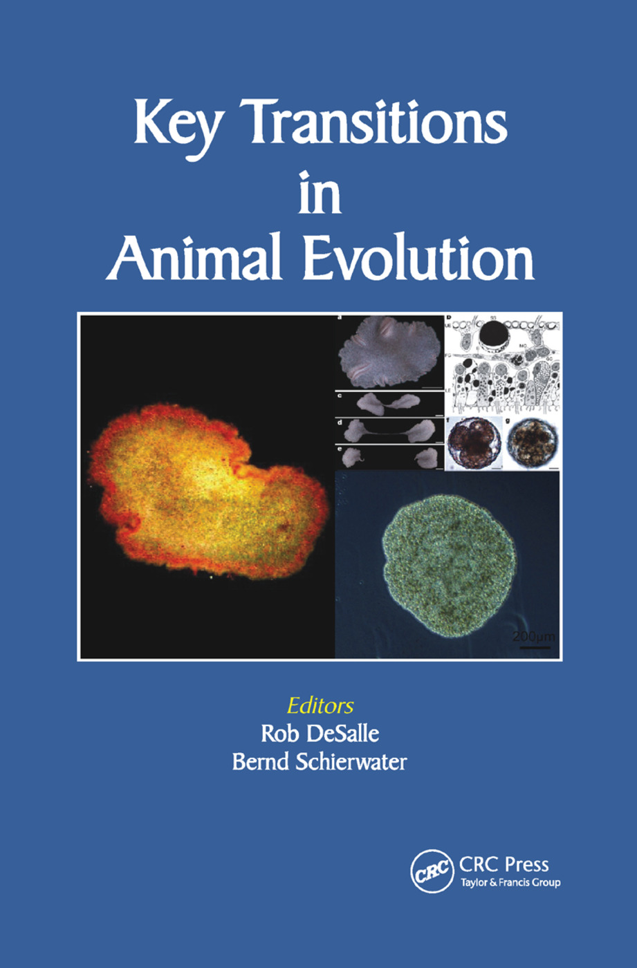 Key Transitions in Animal Evolution: 1st Edition (Paperback) book cover