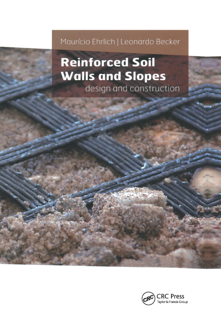 Reinforced Soil Walls and Slopes: Design and Construction, 1st Edition (Paperback) book cover