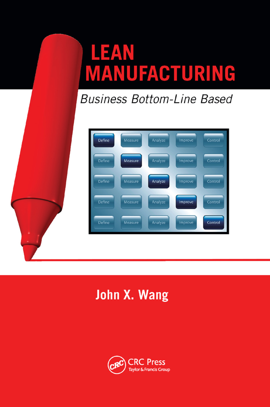 Lean Manufacturing: Business Bottom-Line Based, 1st Edition (Paperback) book cover
