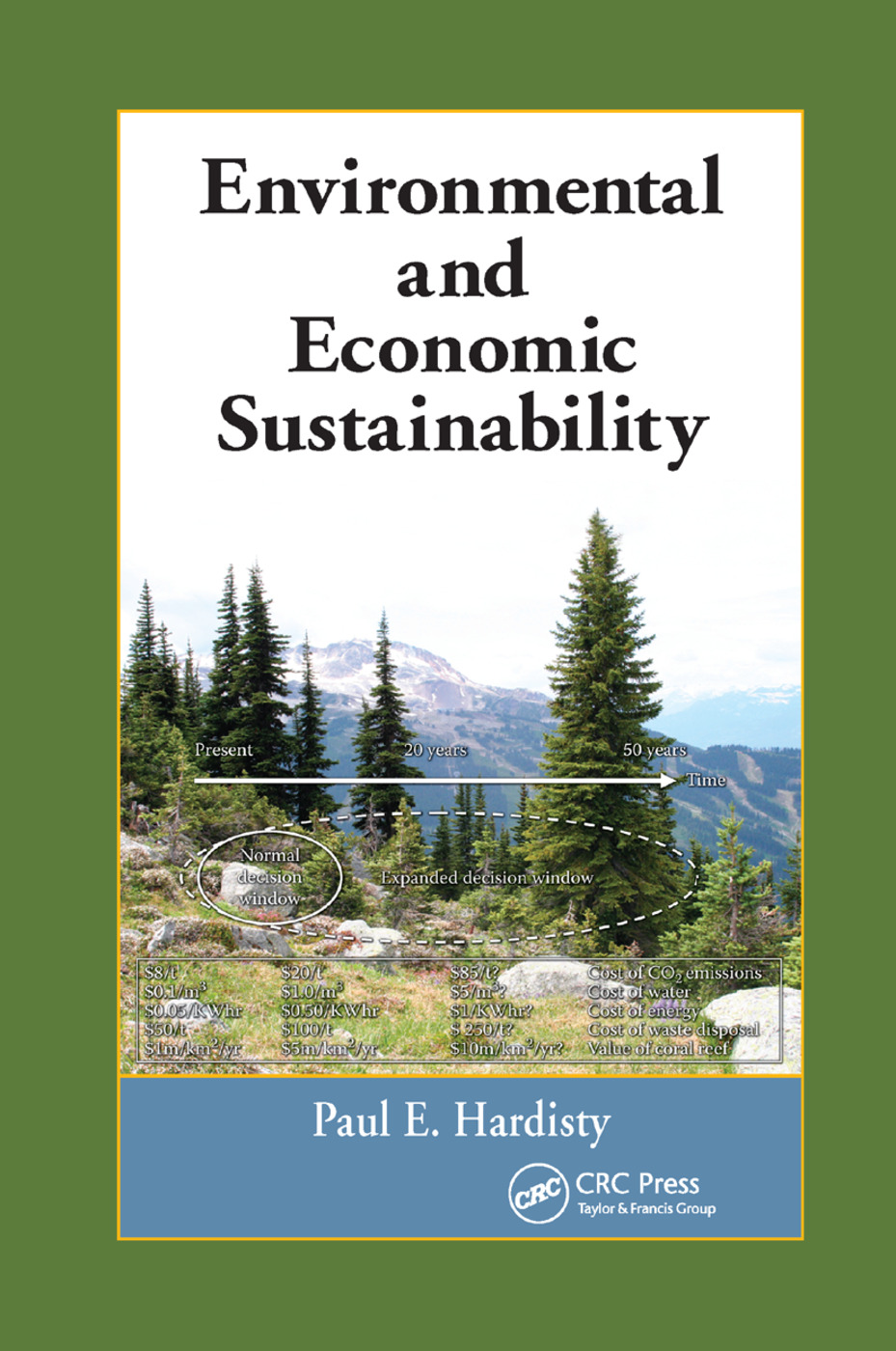 Environmental and Economic Sustainability: 1st Edition (Paperback) book cover