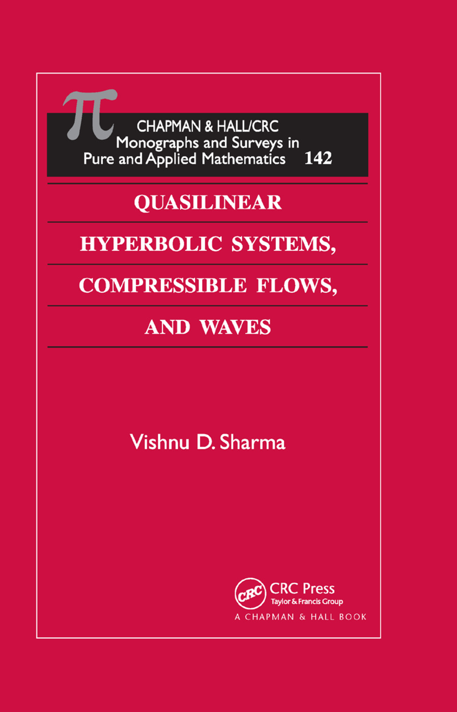 Quasilinear Hyperbolic Systems, Compressible Flows, and Waves: 1st Edition (Paperback) book cover