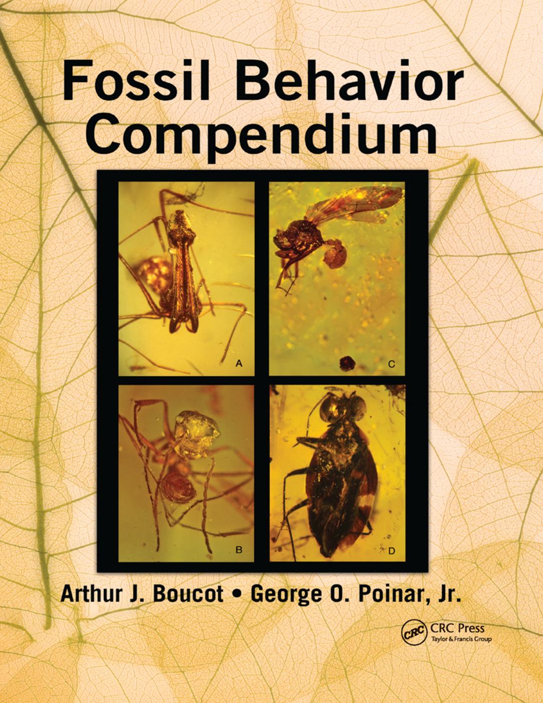 Fossil Behavior Compendium: 1st Edition (Paperback) book cover