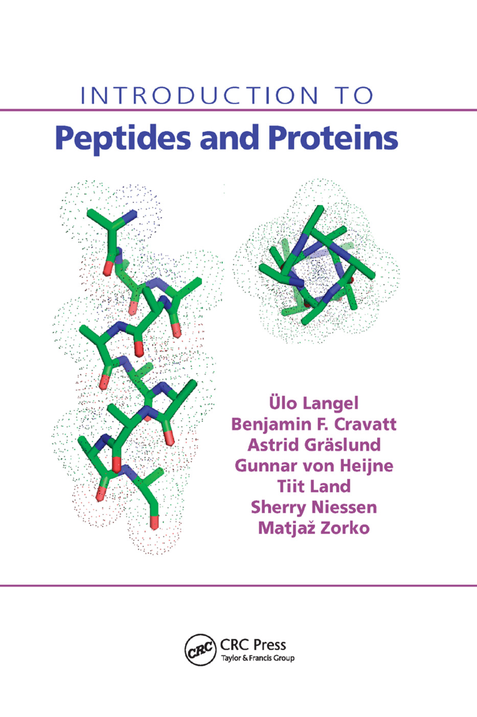 Introduction to Peptides and Proteins: 1st Edition (Paperback) book cover
