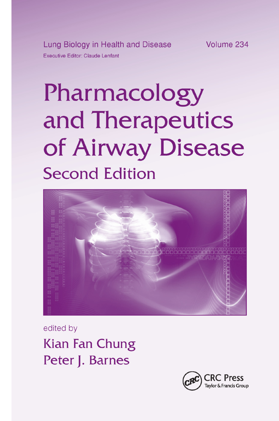 Pharmacology and Therapeutics of Airway Disease: 2nd Edition (Paperback) book cover