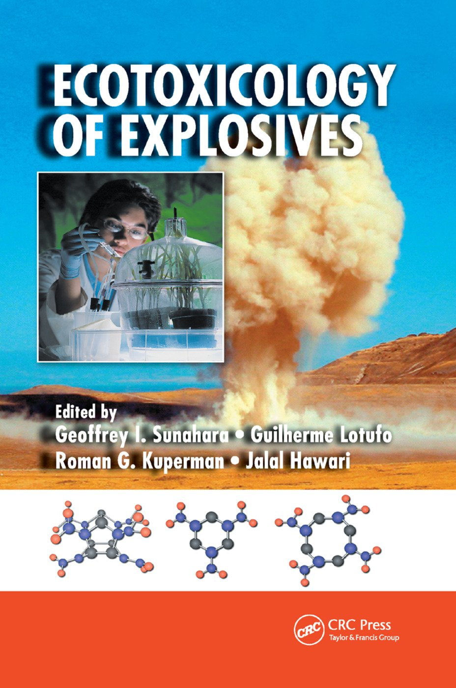 Ecotoxicology of Explosives: 1st Edition (Paperback) book cover