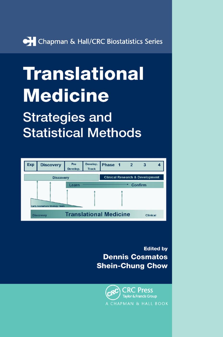 Translational Medicine: Strategies and Statistical Methods, 1st Edition (Paperback) book cover