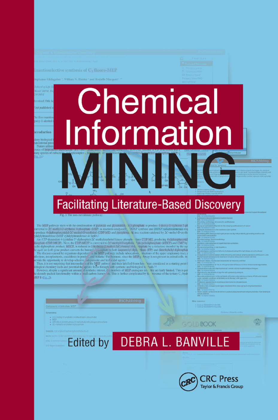 Chemical Information Mining: Facilitating Literature-Based Discovery, 1st Edition (Paperback) book cover