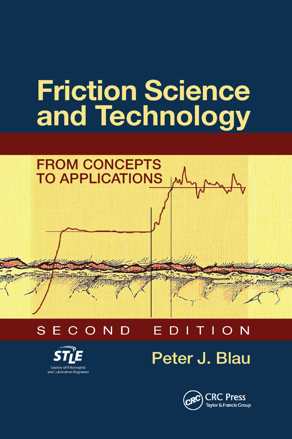 Friction Science and Technology: From Concepts to Applications, Second Edition, 2nd Edition (Paperback) book cover