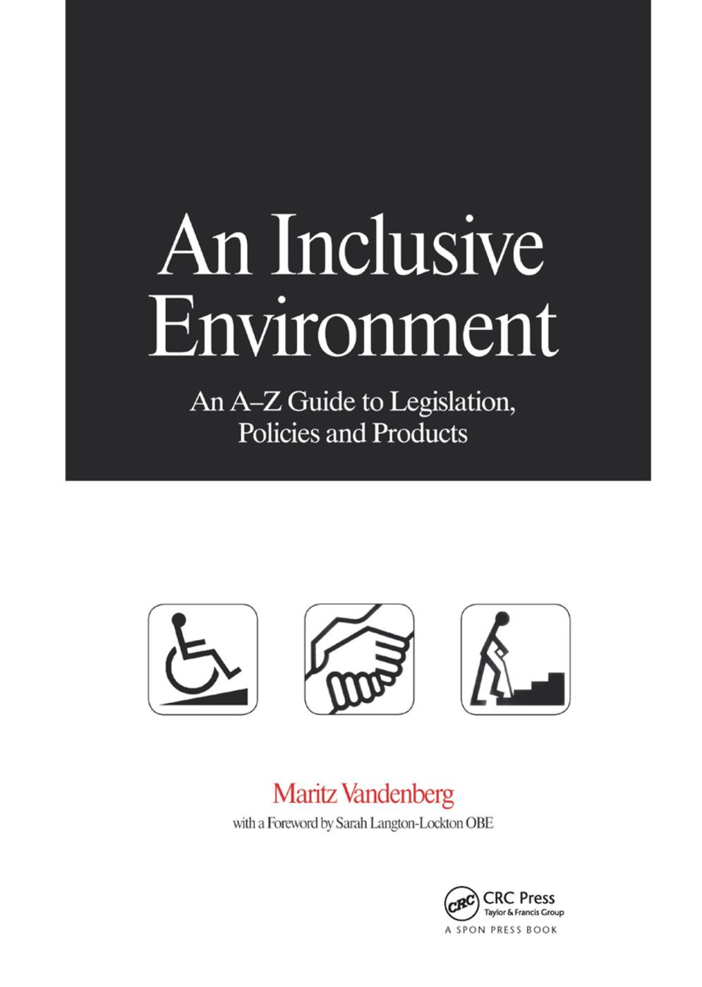 An Inclusive Environment book cover
