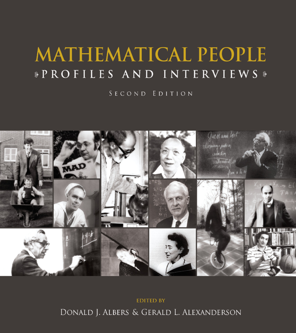 Mathematical People: Profiles and Interviews, 2nd Edition (Paperback) book cover