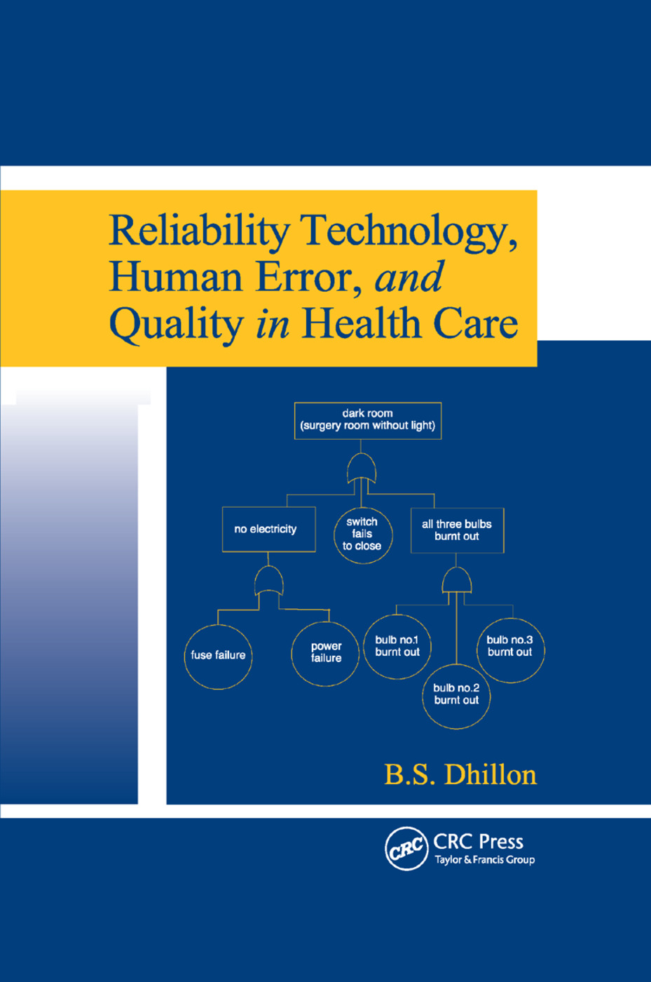 Reliability Technology, Human Error, and Quality in Health Care: 1st Edition (Paperback) book cover