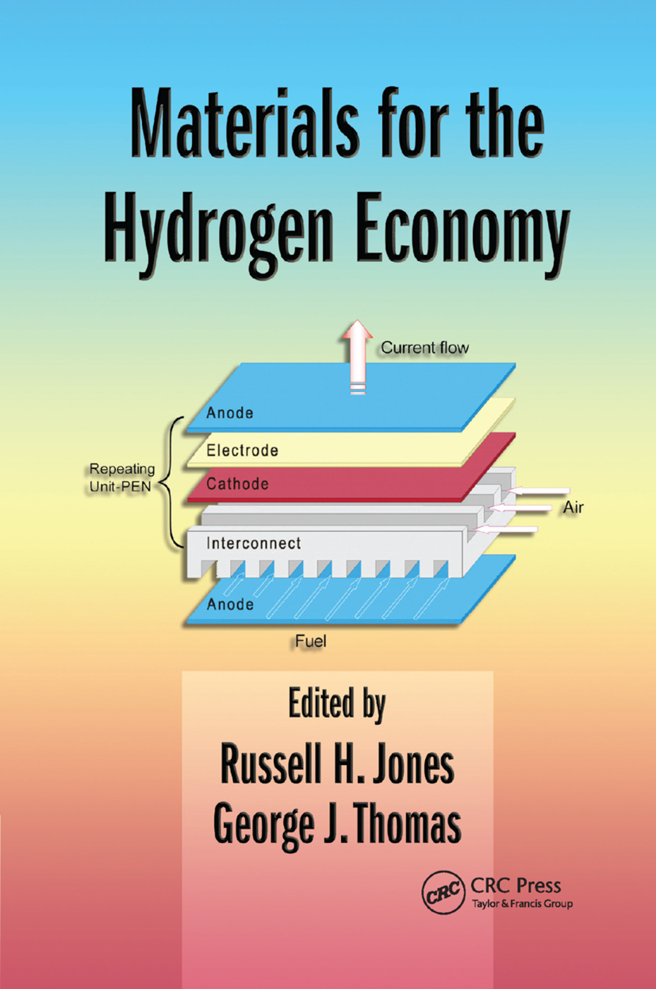 Materials for the Hydrogen Economy: 1st Edition (Paperback) book cover