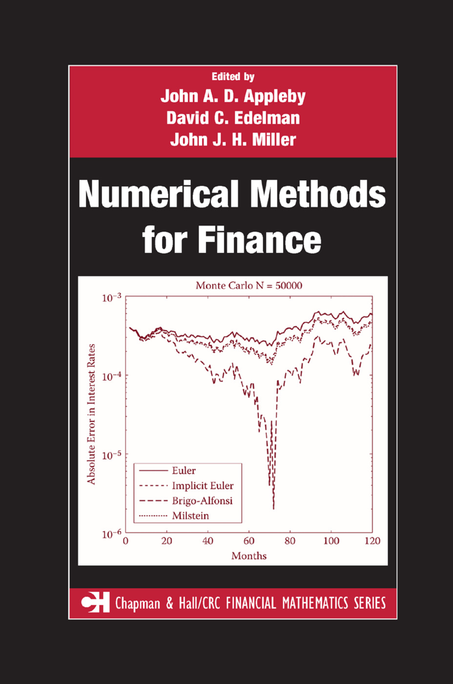 Numerical Methods for Finance: 1st Edition (Paperback) book cover