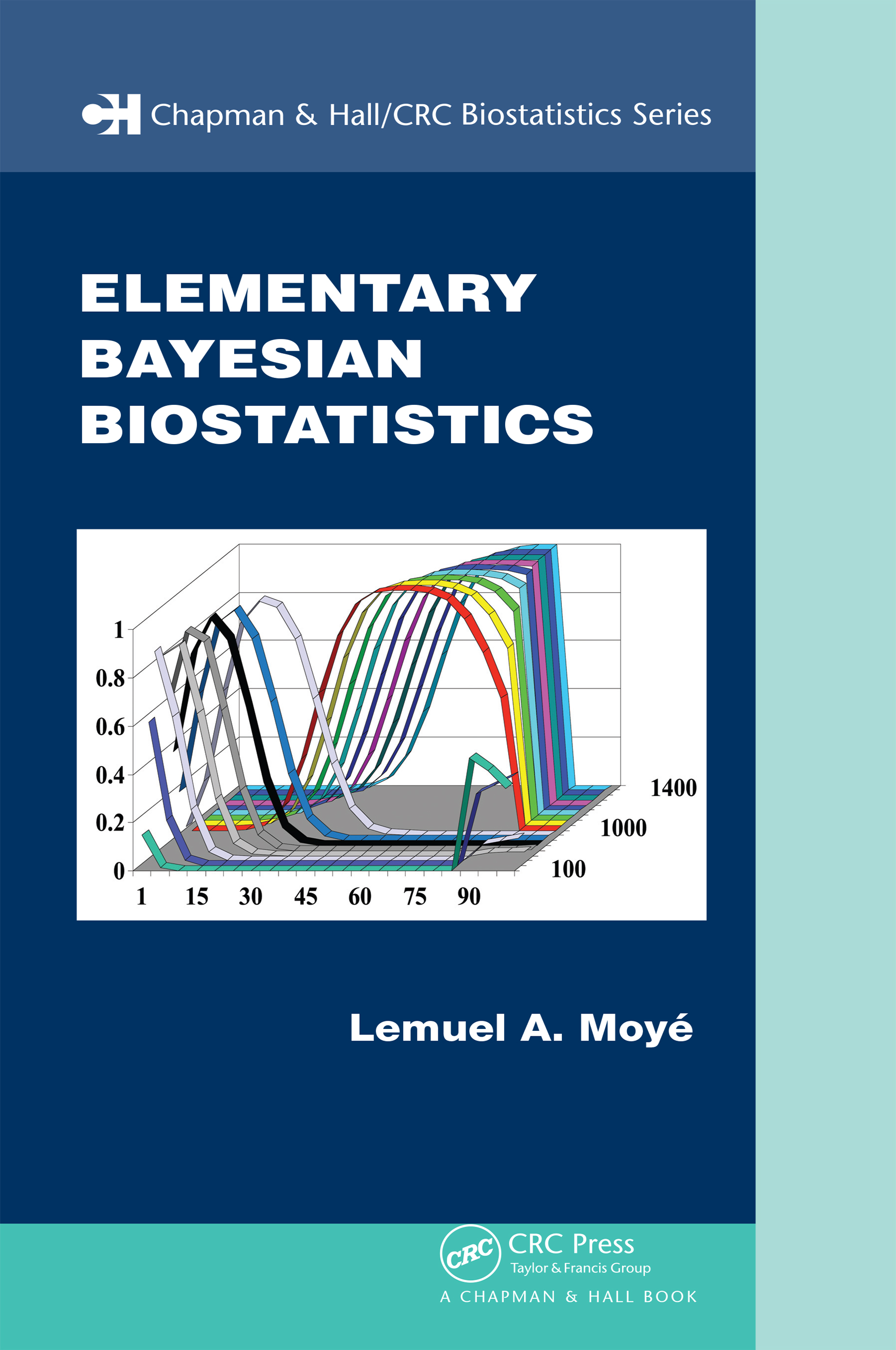Elementary Bayesian Biostatistics: 1st Edition (Paperback) book cover