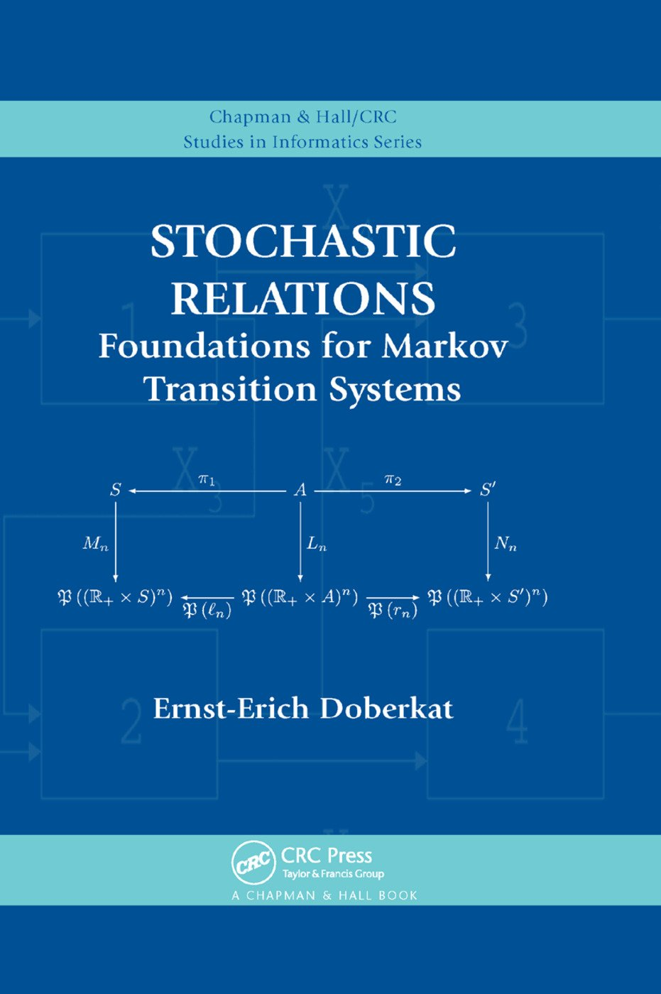 Stochastic Relations: Foundations for Markov Transition Systems, 1st Edition (Paperback) book cover