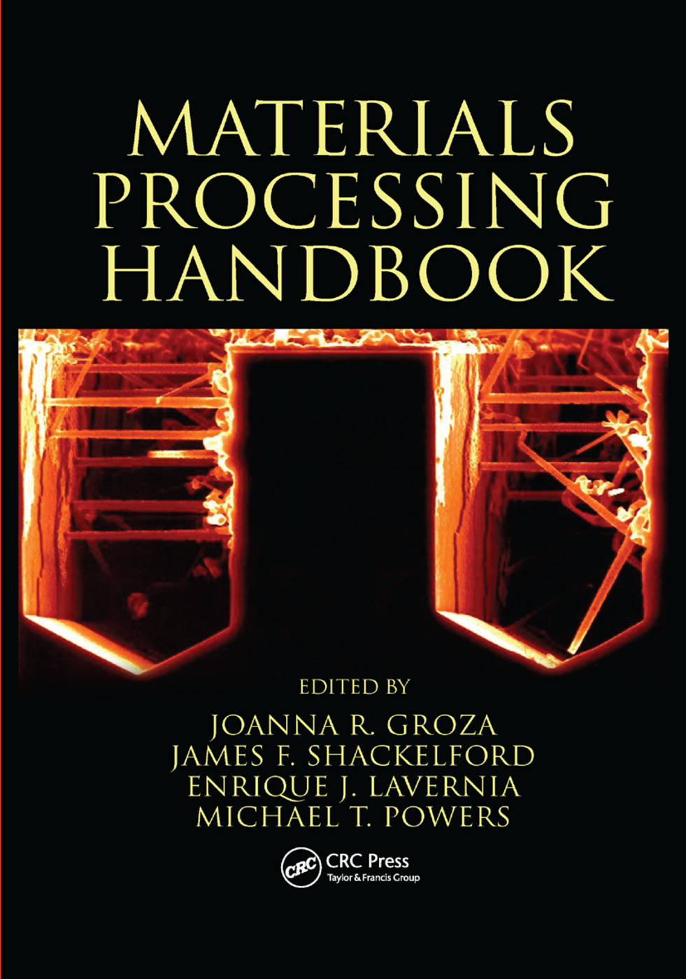 Materials Processing Handbook: 1st Edition (Paperback) book cover