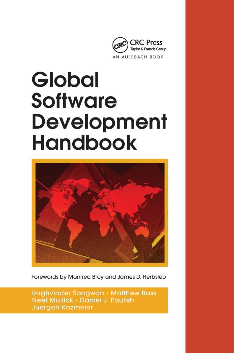 Global Software Development Handbook: 1st Edition (Paperback) book cover