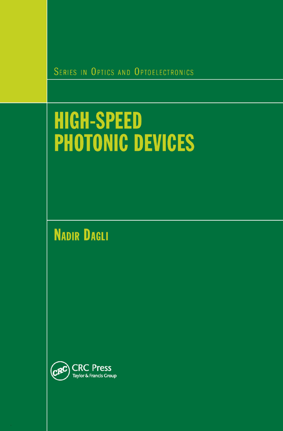 High-Speed Photonic Devices: 1st Edition (Paperback) book cover