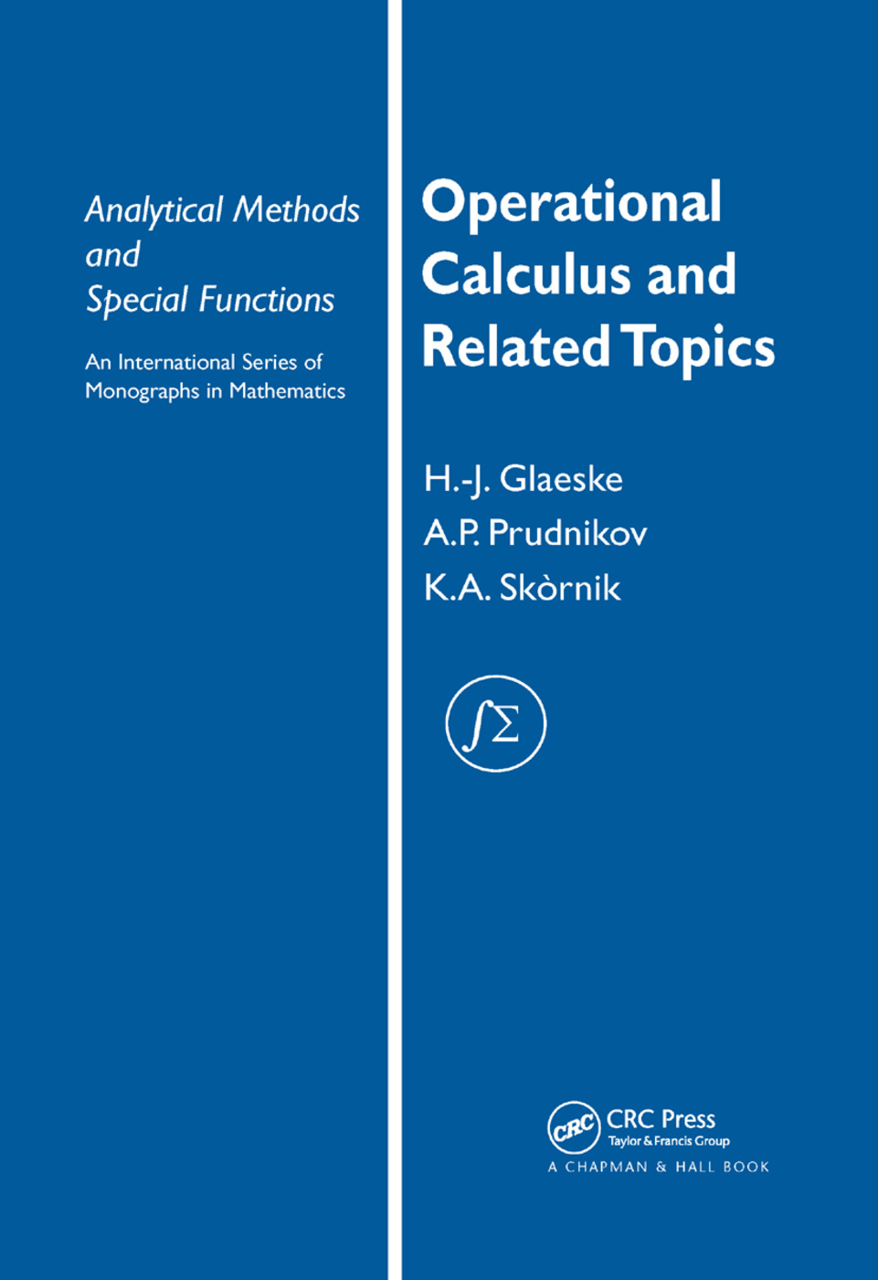 Operational Calculus and Related Topics: 1st Edition (Paperback) book cover
