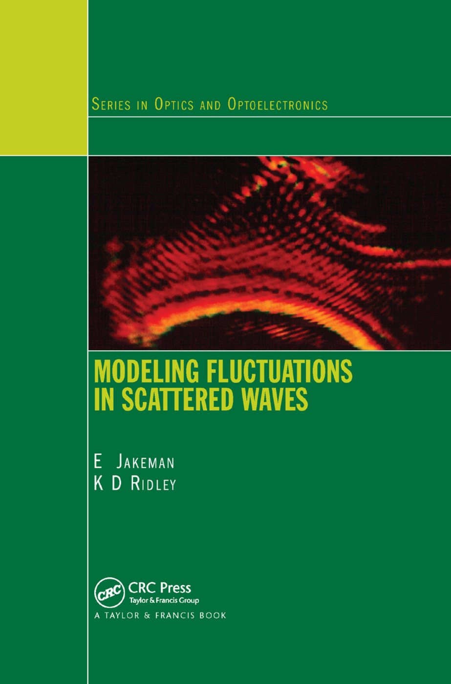 Modeling Fluctuations in Scattered Waves: 1st Edition (Paperback) book cover