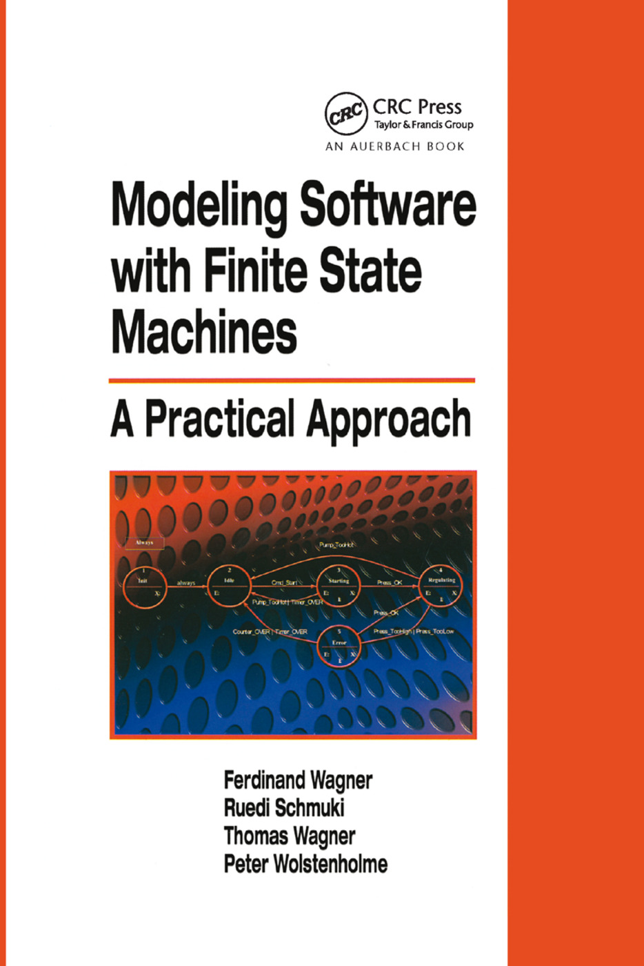 Modeling Software with Finite State Machines: A Practical Approach, 1st Edition (Paperback) book cover