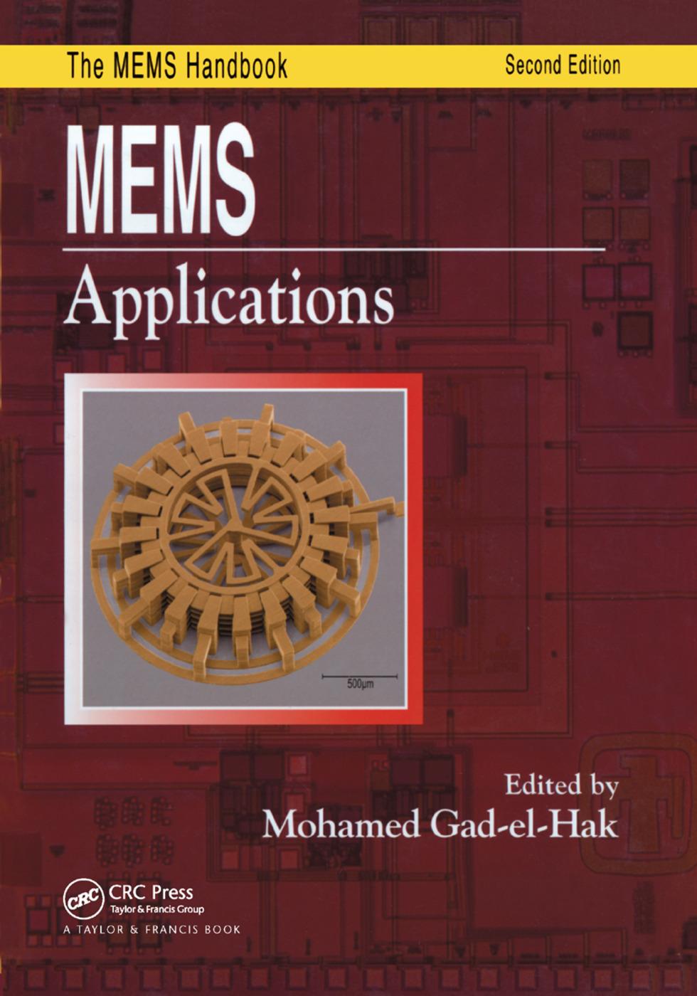 MEMS: Applications book cover