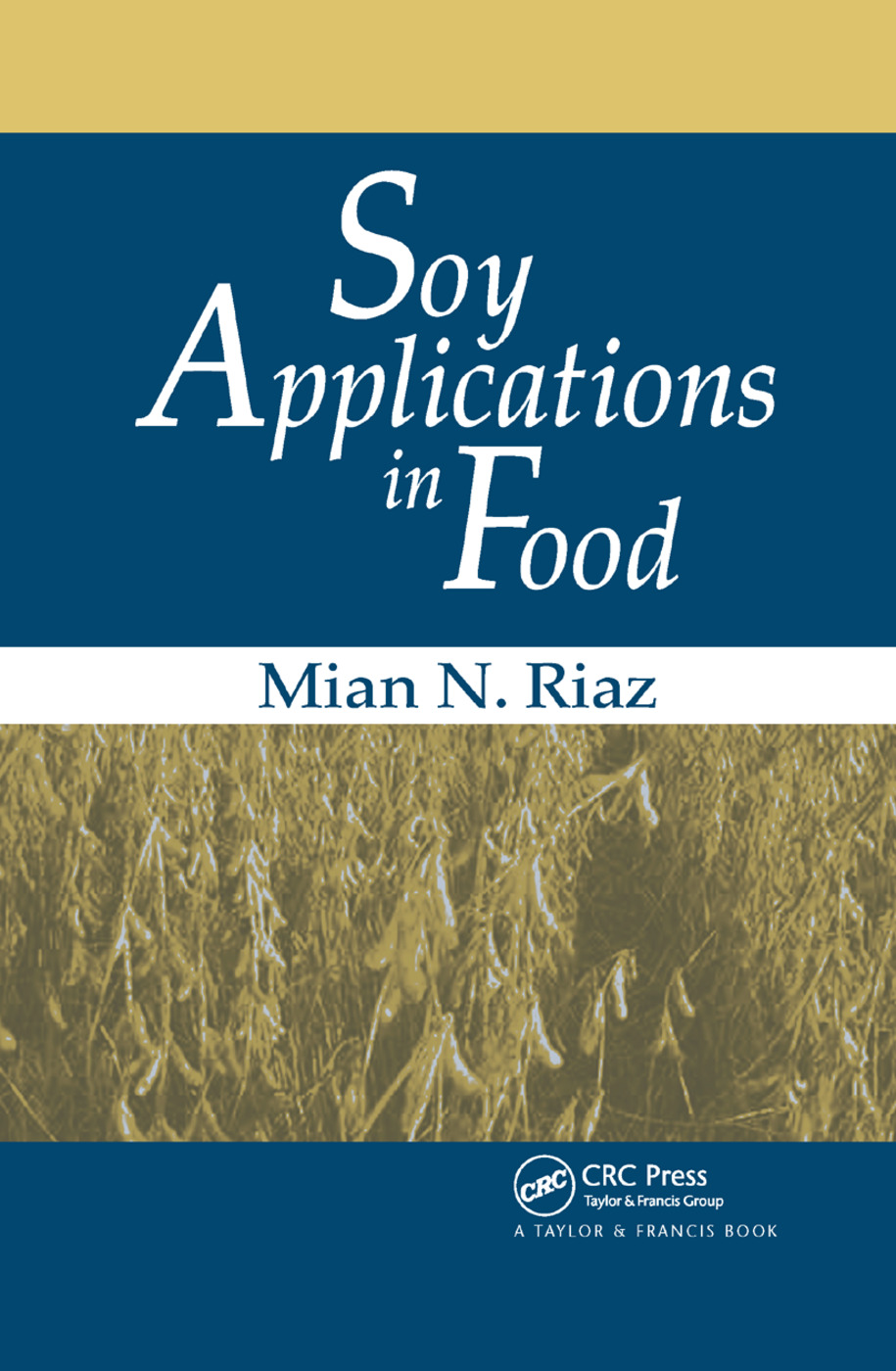 Soy Applications in Food: 1st Edition (Paperback) book cover