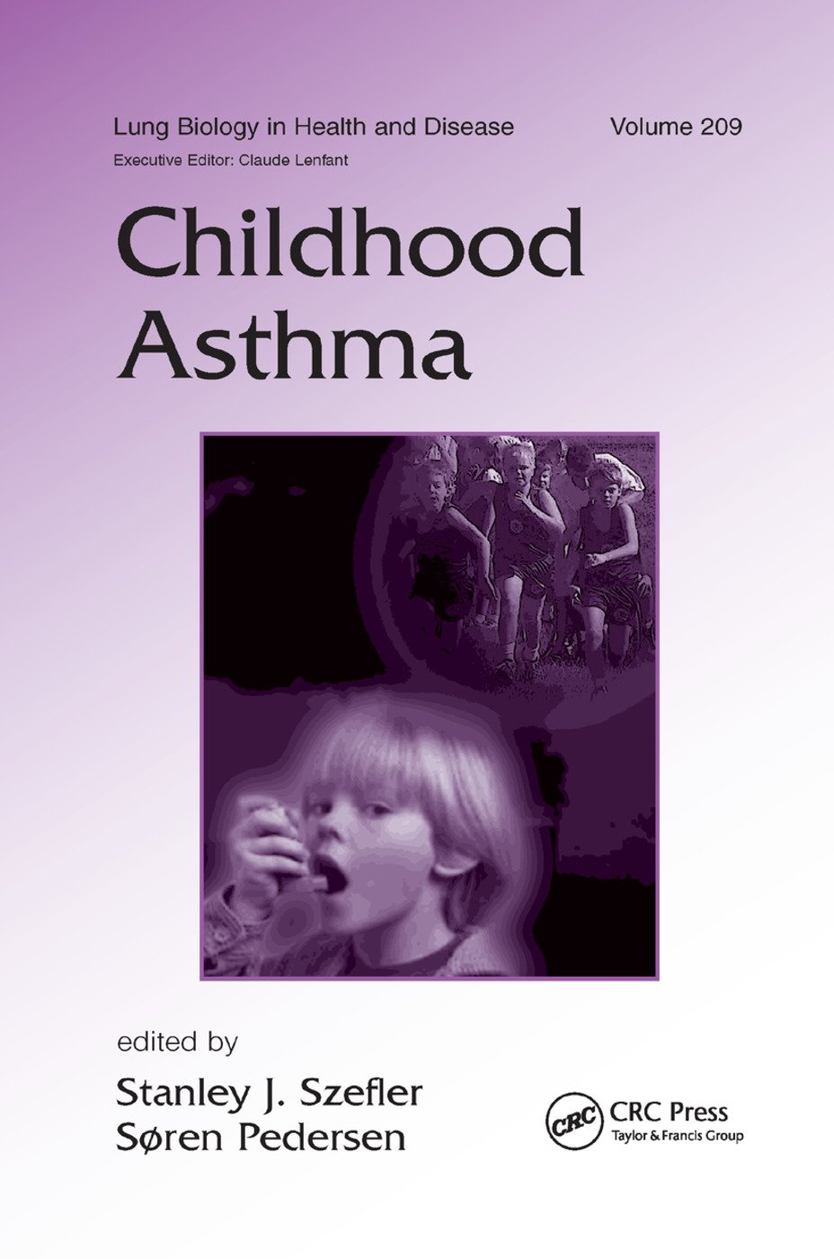 Childhood Asthma: 1st Edition (Paperback) book cover