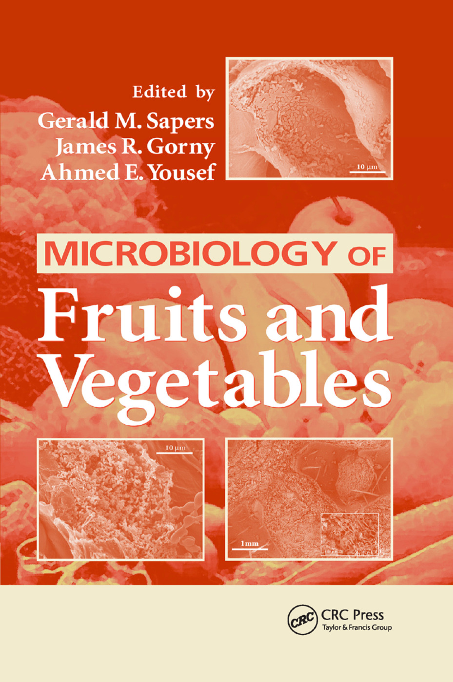 Microbiology of Fruits and Vegetables: 1st Edition (Paperback) book cover