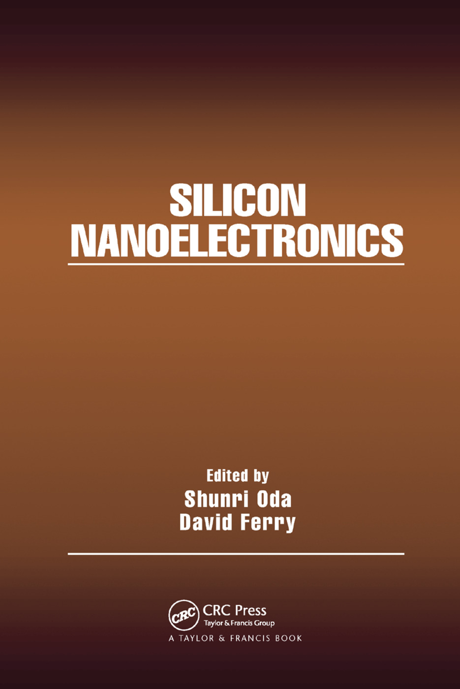 Silicon Nanoelectronics: 1st Edition (Paperback) book cover
