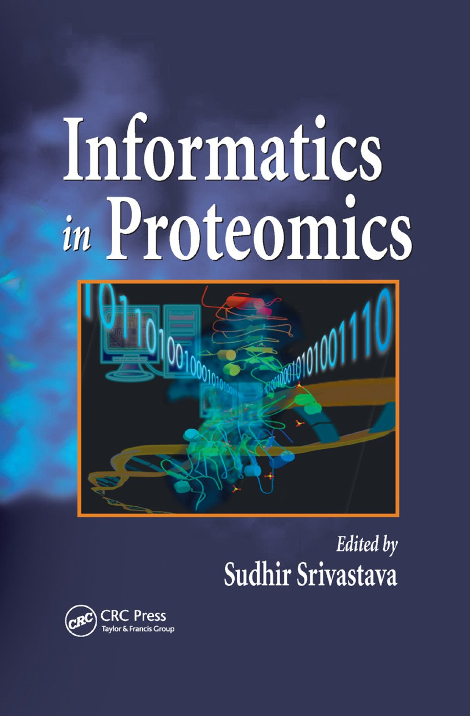 Informatics In Proteomics: 1st Edition (Paperback) book cover