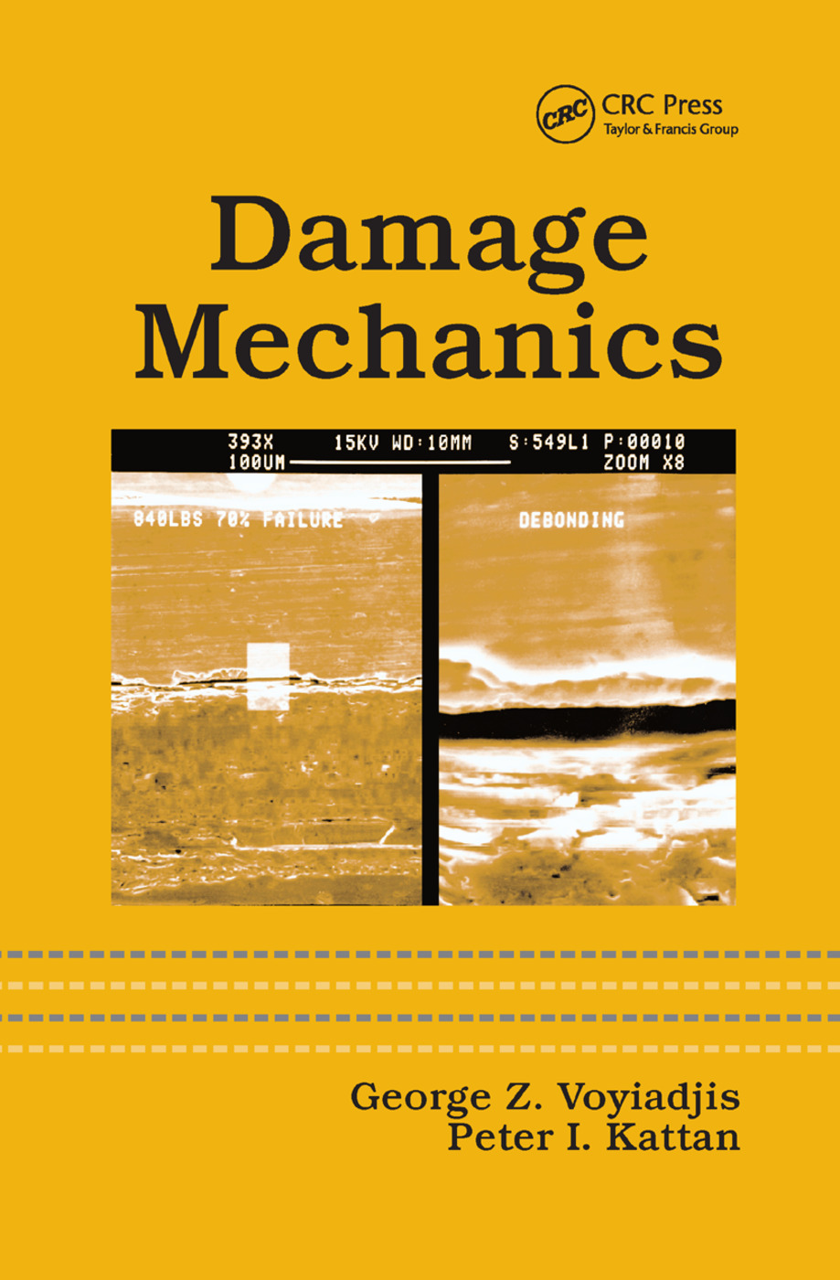 Damage Mechanics: 1st Edition (Paperback) book cover