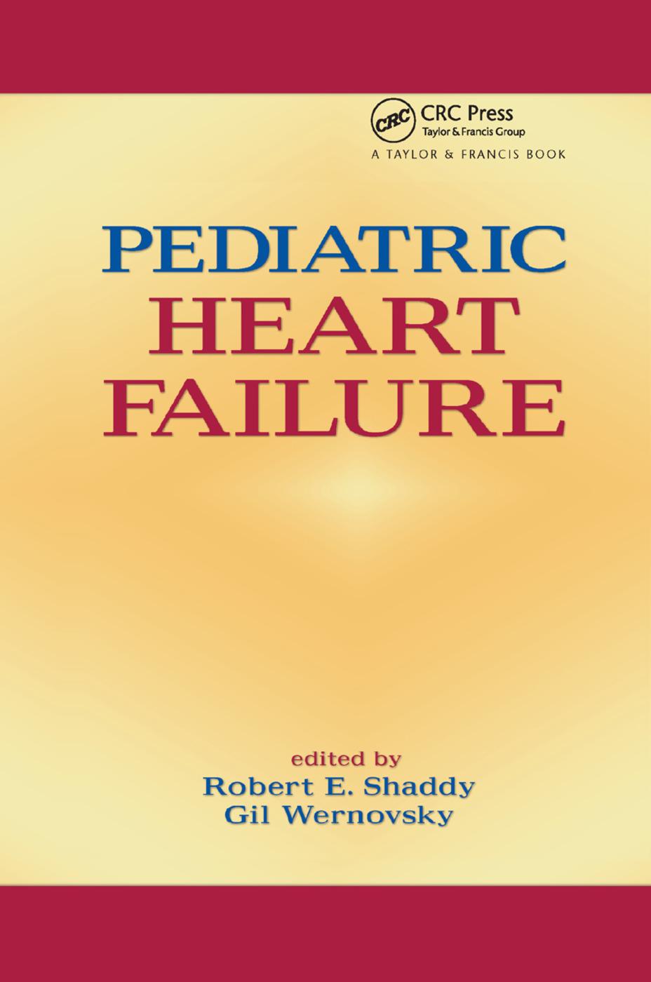 Pediatric Heart Failure: 1st Edition (Paperback) book cover