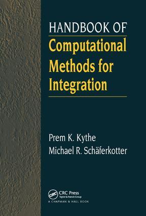 Handbook of Computational Methods for Integration book cover