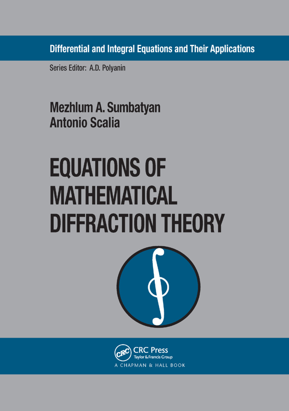 Equations of Mathematical Diffraction Theory book cover