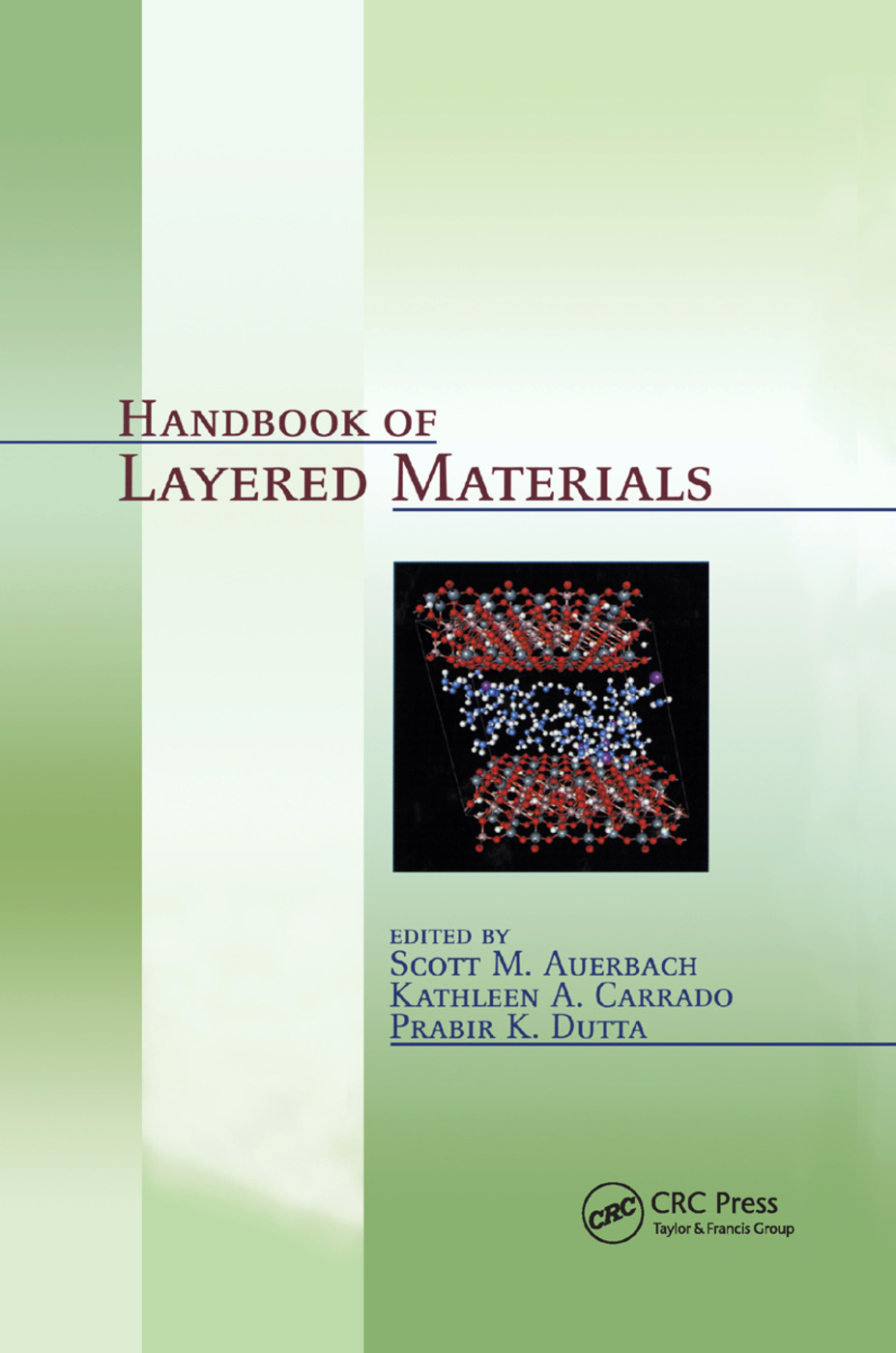 Handbook of Layered Materials: 1st Edition (Paperback) book cover