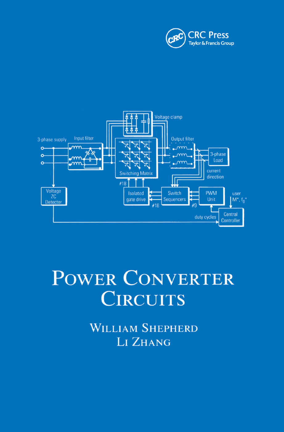 Power Converter Circuits: 1st Edition (Paperback) book cover