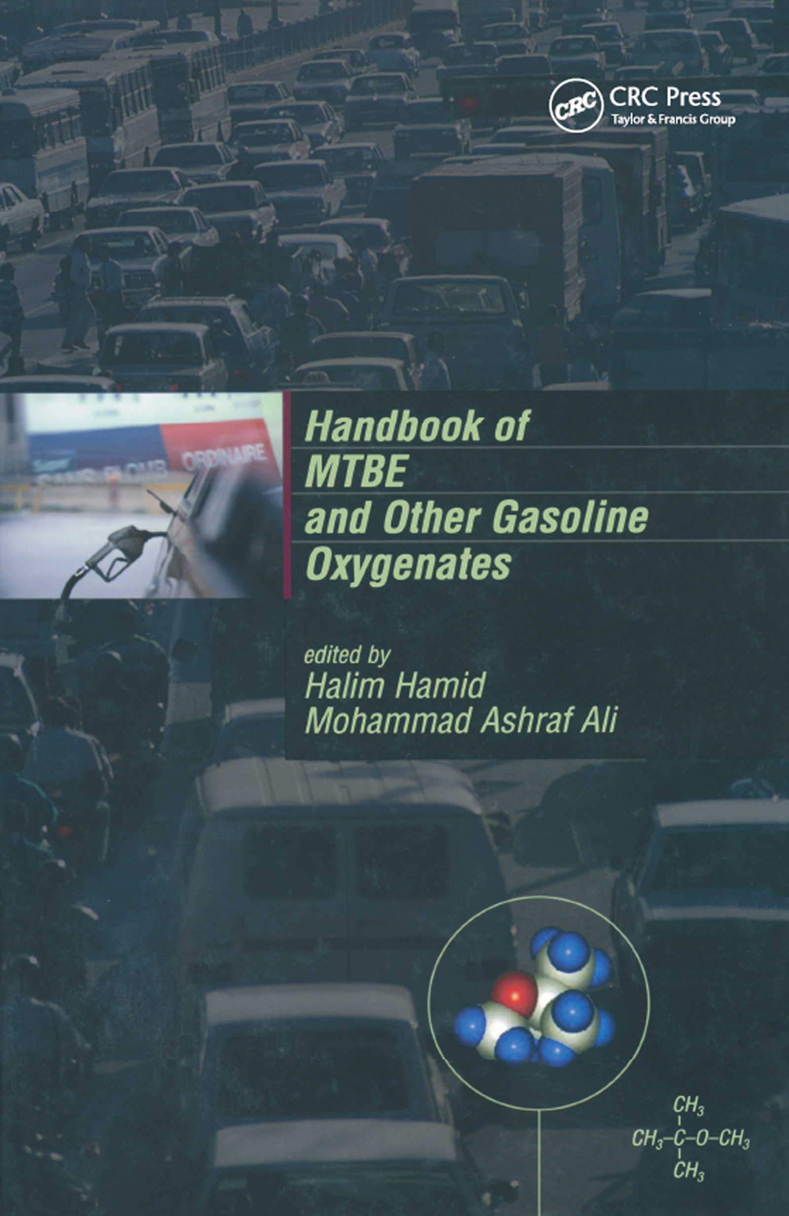 Handbook of MTBE and Other Gasoline Oxygenates: 1st Edition (Paperback) book cover