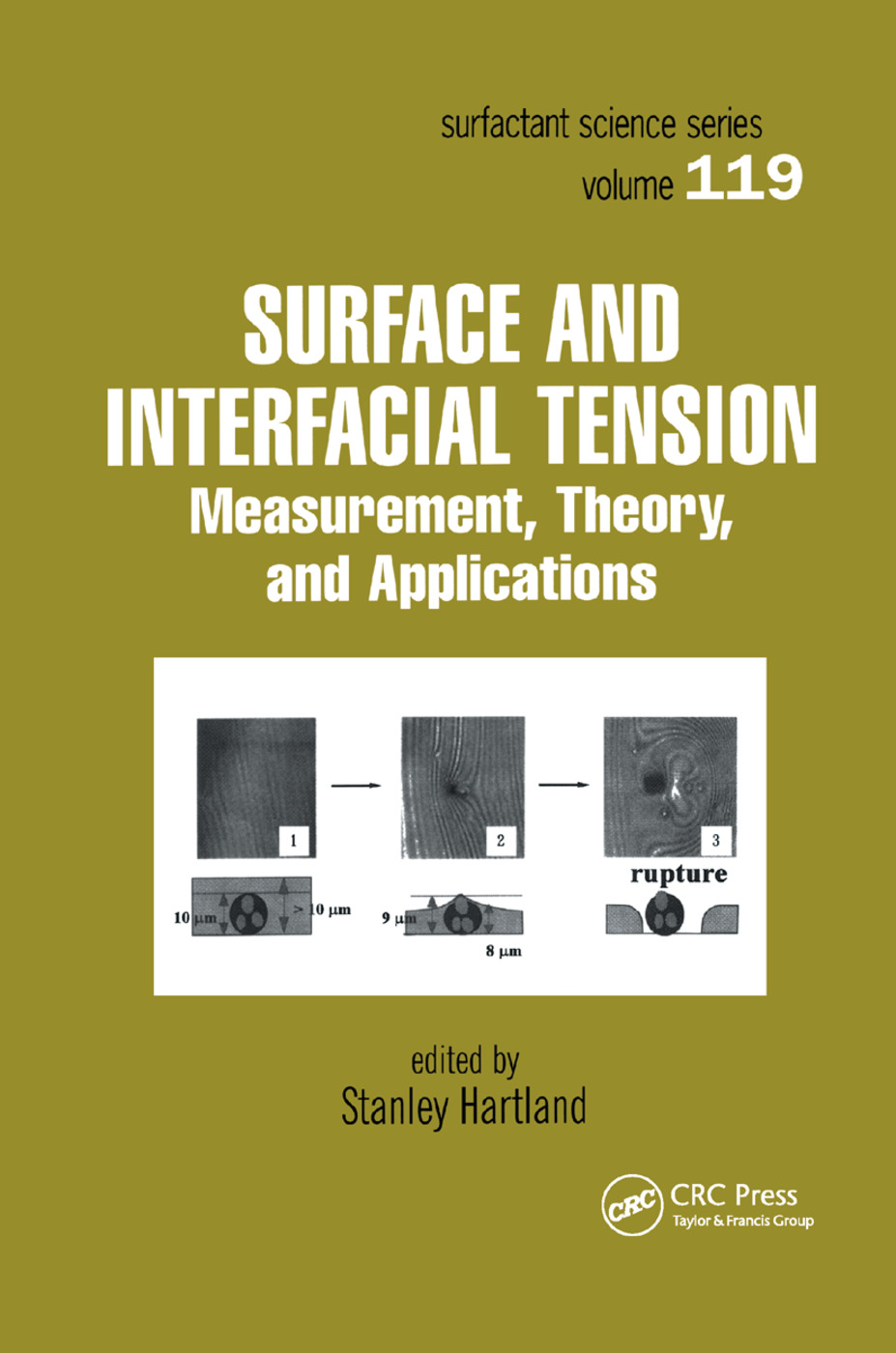 Surface and Interfacial Tension: Measurement, Theory, and Applications, 1st Edition (Paperback) book cover
