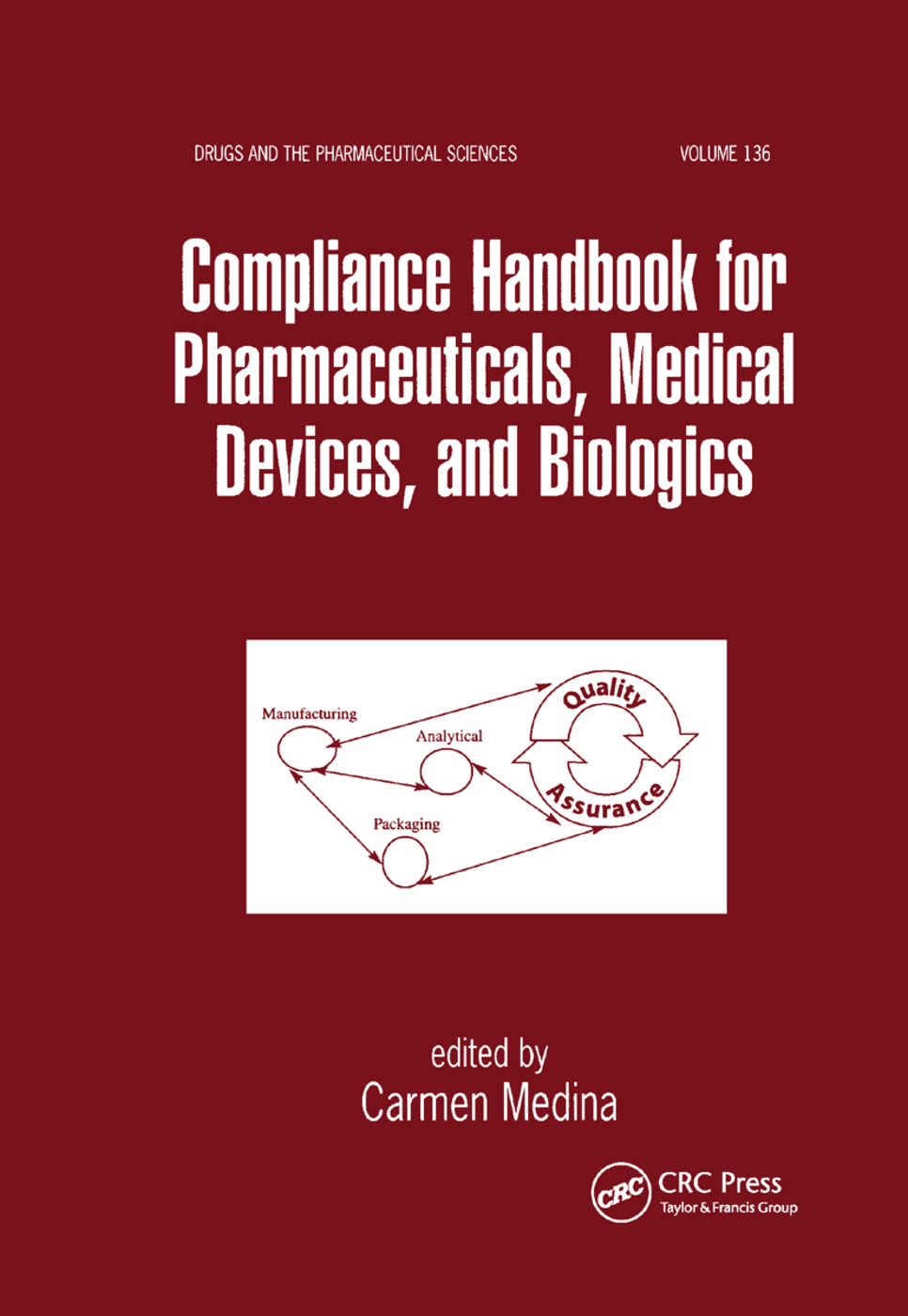 Compliance Handbook for Pharmaceuticals, Medical Devices, and Biologics: 1st Edition (Paperback) book cover