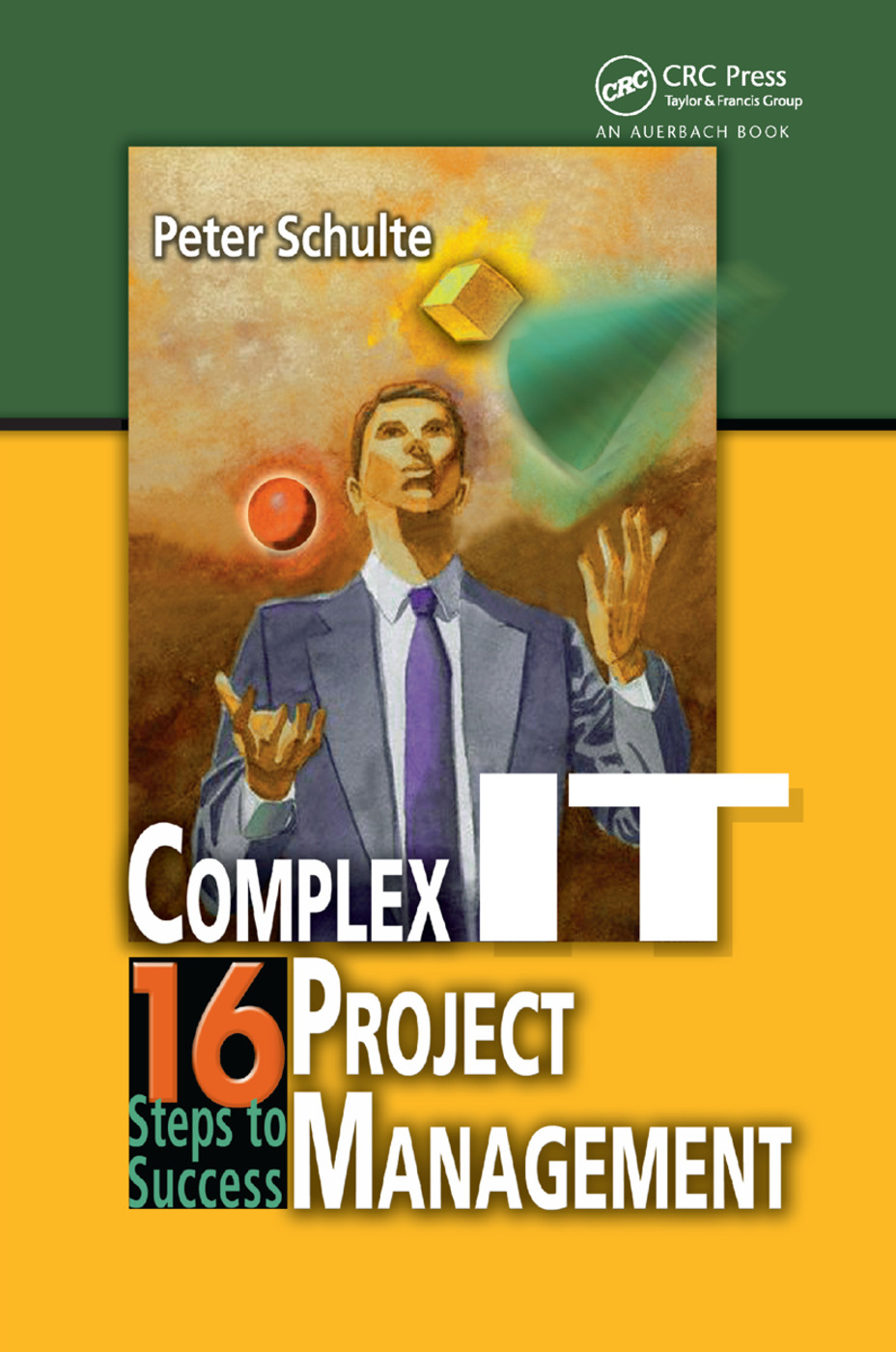 Complex IT Project Management: 16 Steps to Success, 1st Edition (Paperback) book cover