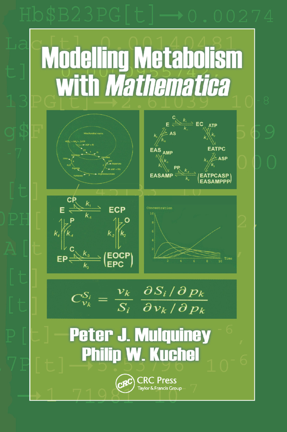 Modelling Metabolism with Mathematica: 1st Edition (Paperback) book cover