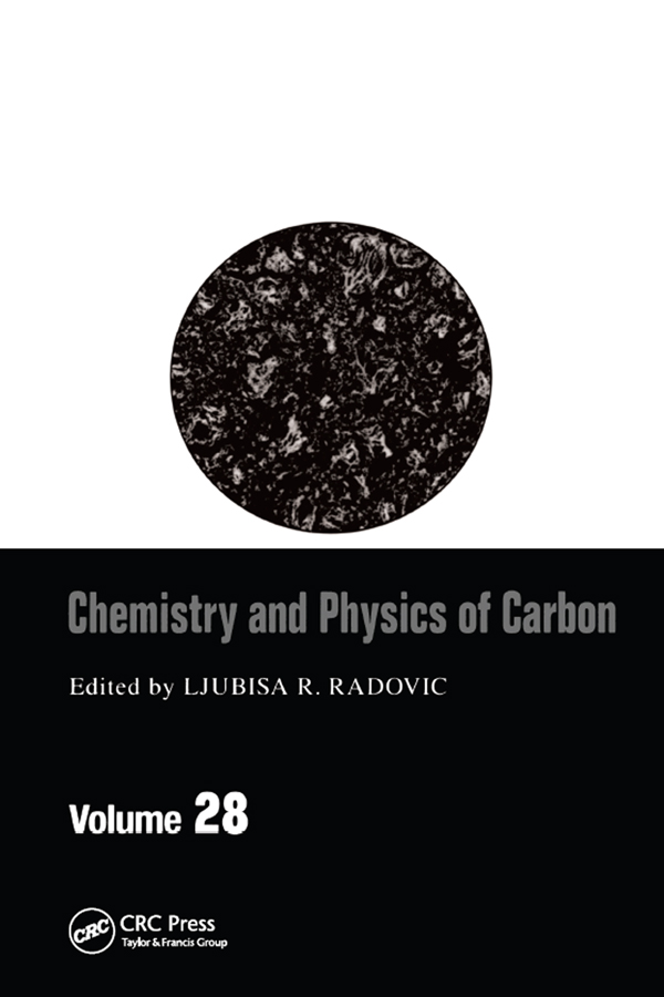 Chemistry & Physics of Carbon: Volume 28, 1st Edition (Paperback) book cover