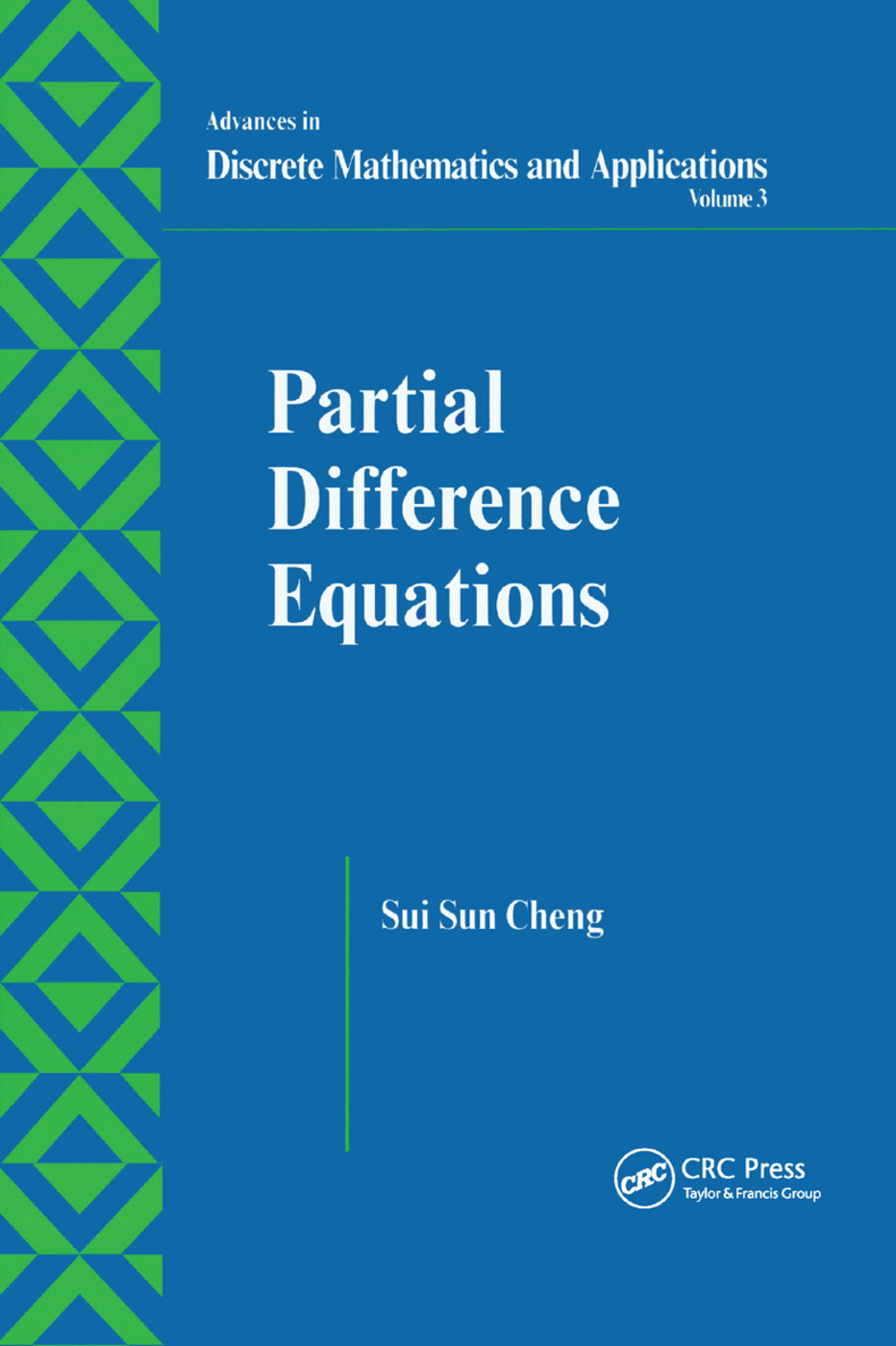Partial Difference Equations: 1st Edition (Paperback) book cover
