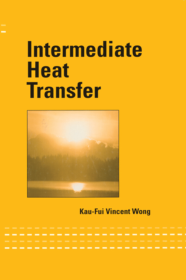 Intermediate Heat Transfer: 1st Edition (Paperback) book cover