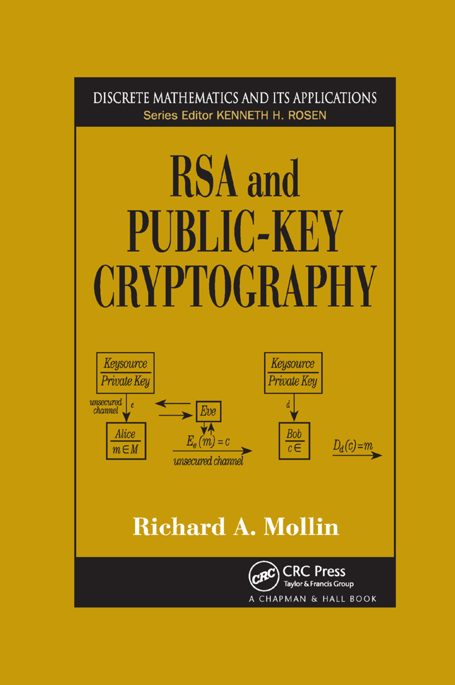 RSA and Public-Key Cryptography: 1st Edition (Paperback) book cover