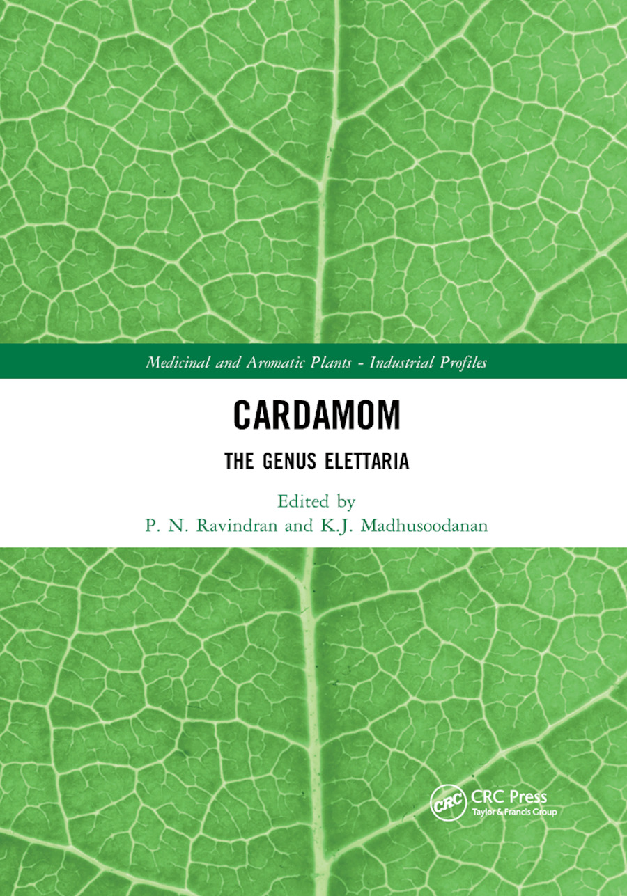 Cardamom: The Genus Elettaria book cover