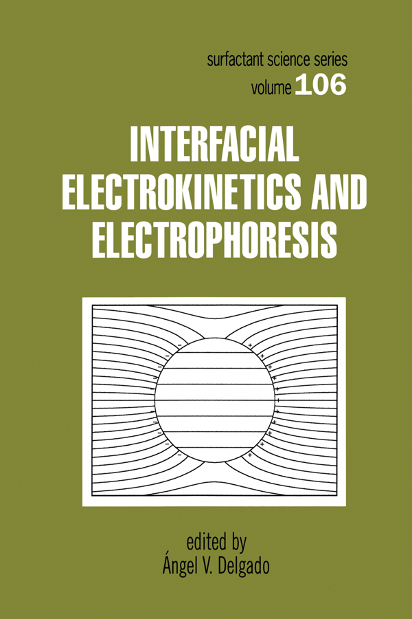 Interfacial Electrokinetics and Electrophoresis: 1st Edition (Paperback) book cover